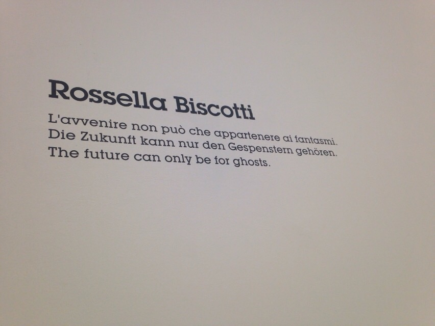 3 - Rossella Biscotti, L'avvenire non può che appartenere ai fantasmi