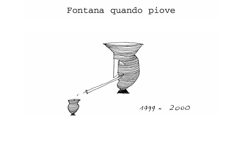 immagine 0 - Ugo Marano - fontana quando piove - progetto