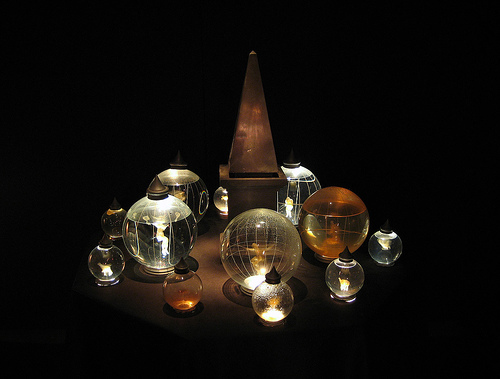 6. The Museum of Jurassic Technology Los Angeles Kerosene Lamp and Lantern Knowledge Magnetic Hydromancy""